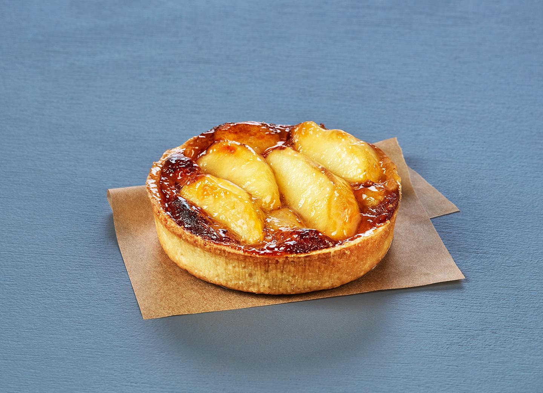 Tartelette pommes et caramel
